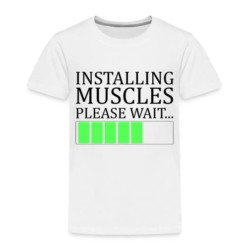 Installing muscles - T-shirt Premium Enfant