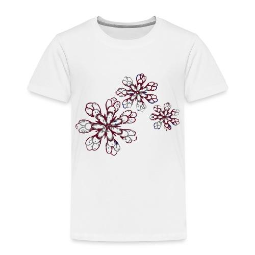 Black flower - T-shirt Premium Enfant