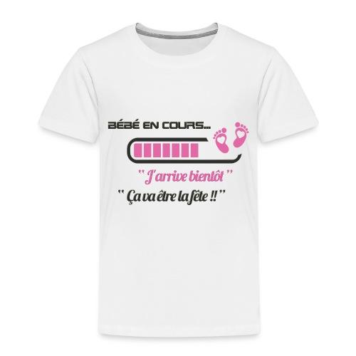 Bébé en cours de téléchargement - T-shirt Premium Enfant