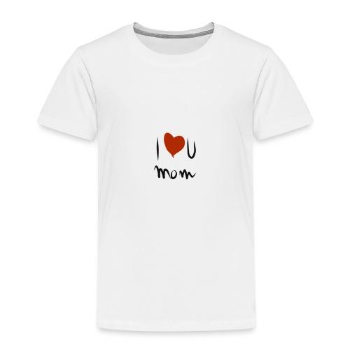 i love you mom - T-shirt Premium Enfant