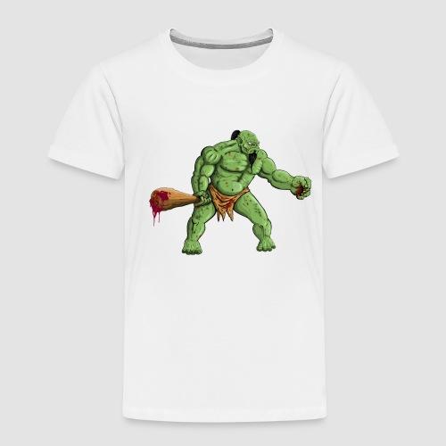 Angry Ogre - Kids' Premium T-Shirt