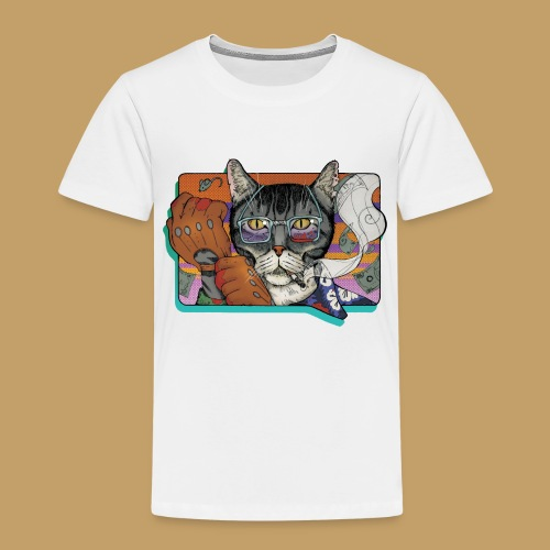 Crime Cat - Koszulka dziecięca Premium