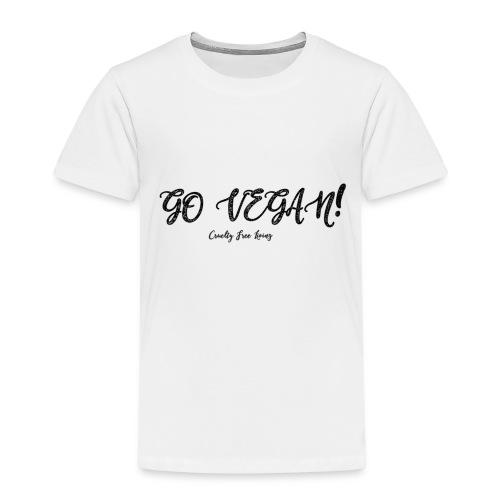 GO VEGAN - Kids' Premium T-Shirt