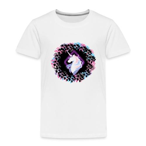 licorne couronne feuille - T-shirt Premium Enfant