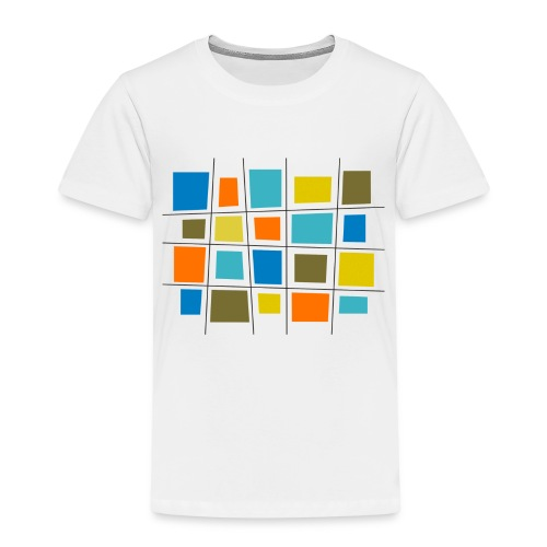 colored patchwork - Maglietta Premium per bambini