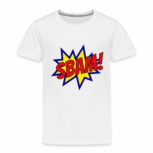 SBAM! - Maglietta Premium per bambini