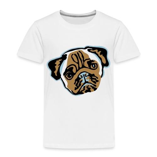 mops_vektor - Kinder Premium T-Shirt