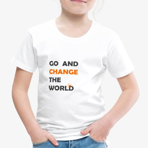 change the world- princesse - T-shirt Premium Enfant
