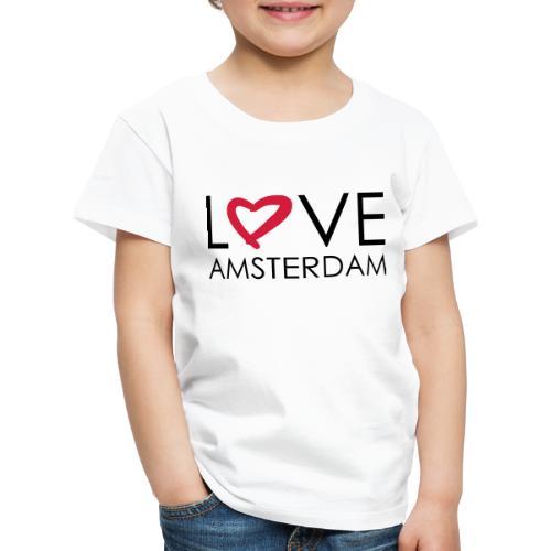love amsterdam - Kinder Premium T-Shirt