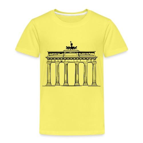 Brandenburger Tor Berlin Victoria Streitwagen - Kinder Premium T-Shirt