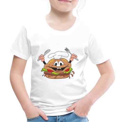 burger - Kinder Premium T-Shirt