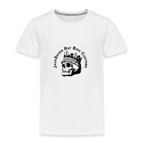JackSeven Rat Bike Customs Lifestyle Bekleidung - Kinder Premium T-Shirt