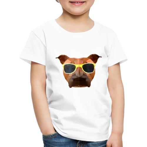 Amy mit Sonnenbrille - Kinder Premium T-Shirt