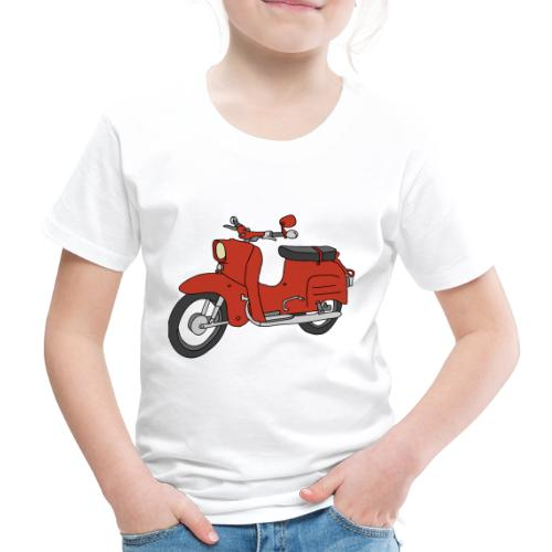 Schwalbe (ibizarot) - Kinder Premium T-Shirt