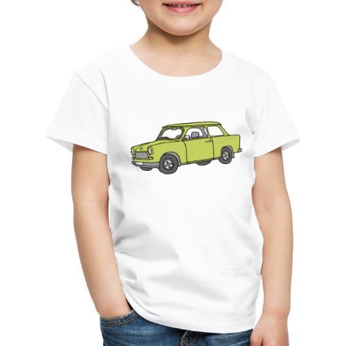 Trabi, Trabant (baligrün) - Kinder Premium T-Shirt