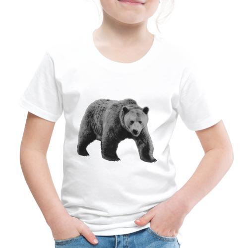 Bear Gray, Wild Bear Gray - Koszulka dziecięca Premium