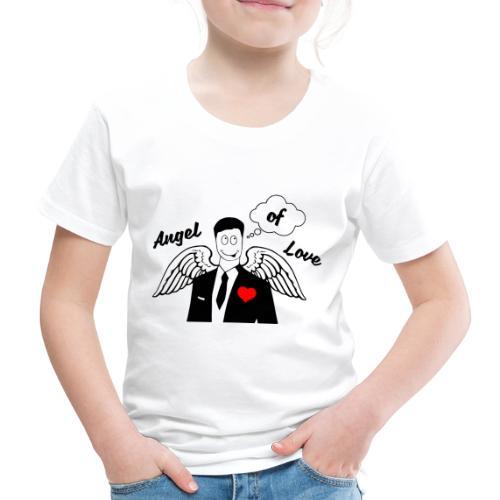 Angel of Love schwarz - Kinder Premium T-Shirt