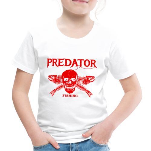 Predator fishing red - Kinder Premium T-Shirt