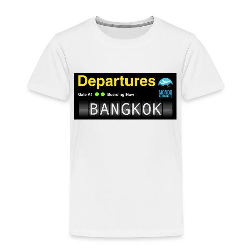 Departures BANGKOK jpg - Maglietta Premium per bambini