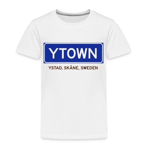 Ystad, Badly Translated - Premium-T-shirt barn