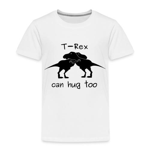 abbraccio tirannosauri - Maglietta Premium per bambini