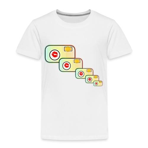 Multi-Camera - Kids' Premium T-Shirt