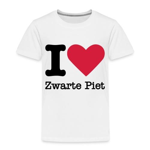I Love Zwarte Piet - Kinderen Premium T-shirt