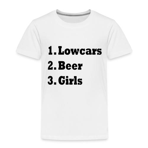 Lowcars Shirt - Kinderen Premium T-shirt