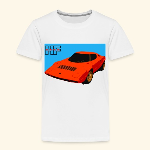 rally car - Kids' Premium T-Shirt