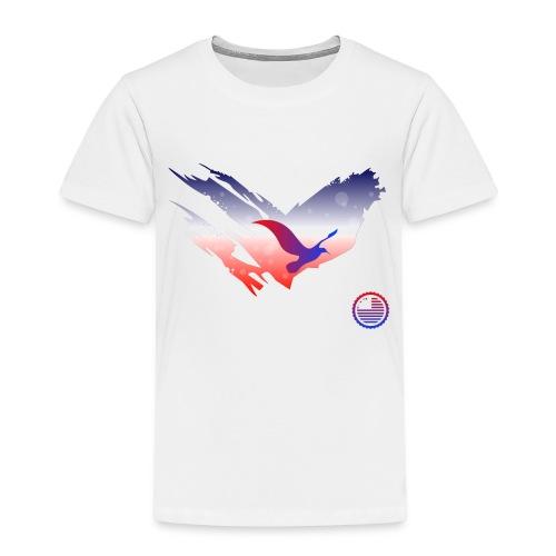 Space Atlas Tee America - Børne premium T-shirt