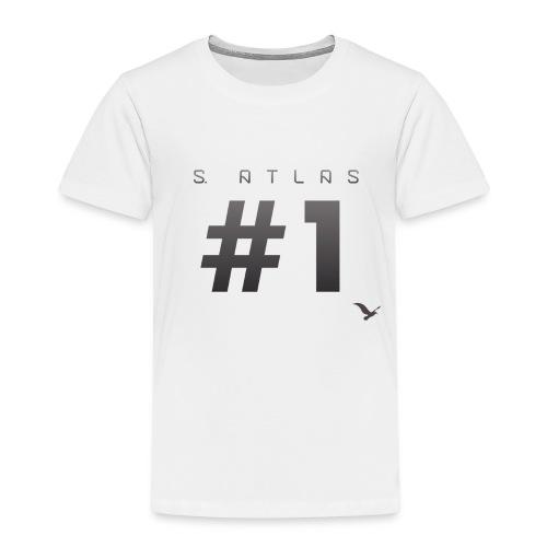Space Atlas Ladies Long Sleeve #1 - Børne premium T-shirt