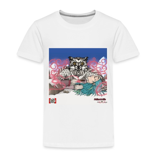 Pink Magic 11 spread png - Børne premium T-shirt