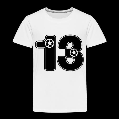foot numero 13 - Kids' Premium T-Shirt