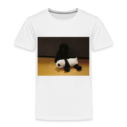 Maggie och pandan - Premium-T-shirt barn