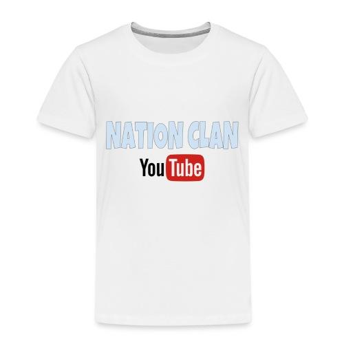 NATION CLAN: - Premium-T-shirt barn