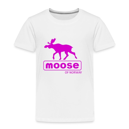 MooseofNorway - Premium T-skjorte for barn