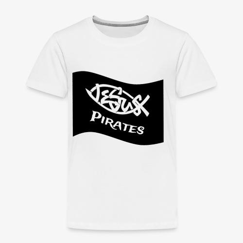 Logo Jesus Pirates Flag - Kinder Premium T-Shirt