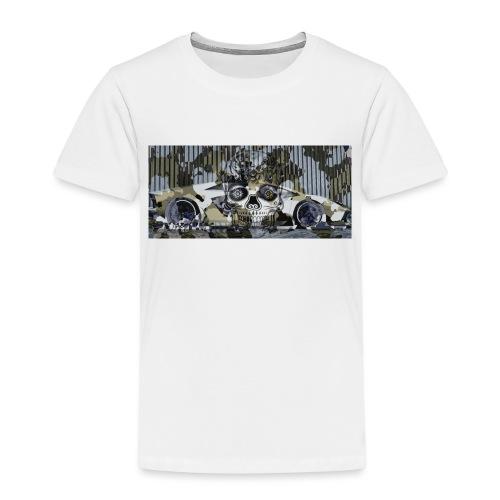 calavera style - Kids' Premium T-Shirt