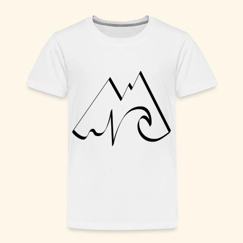 Logo SURFTRIP noir - T-shirt Premium Enfant