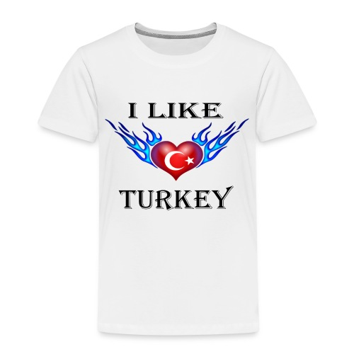 I Like Turkey - Kinder Premium T-Shirt