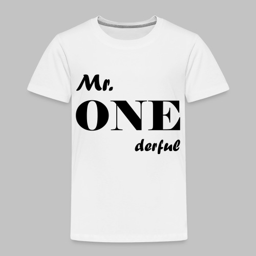 Mr.Onederful - Kinder Premium T-Shirt