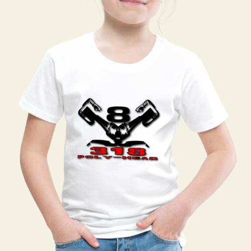 318p v8 - Børne premium T-shirt