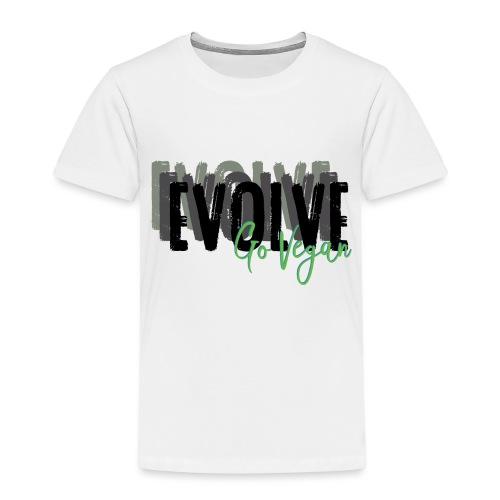 Evolve go Vegan - Kids' Premium T-Shirt