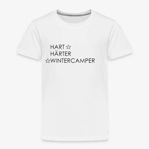 Wintercamper - Kinder Premium T-Shirt