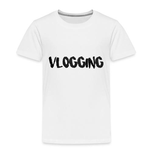 VLOGGING - Premium-T-shirt barn