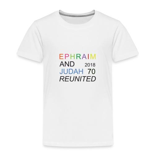 EPHRAIM AND JUDAH Reunited 2018 - 70 - Kinderen Premium T-shirt