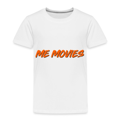 ME MOVIES ORANGE - Premium-T-shirt barn