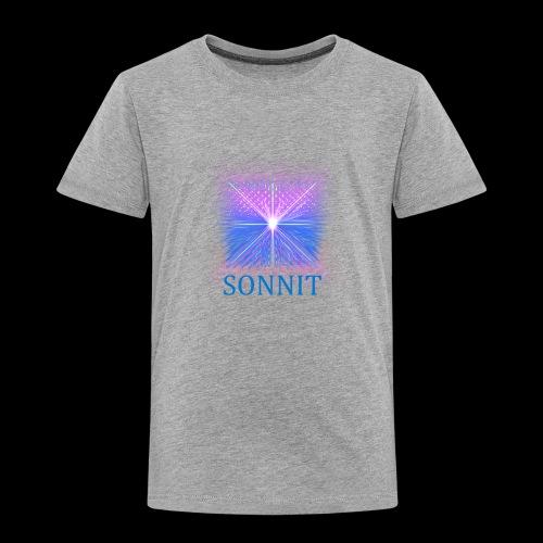 Sonnit Blue Transform Pack, FADING SQUARE - Kids' Premium T-Shirt