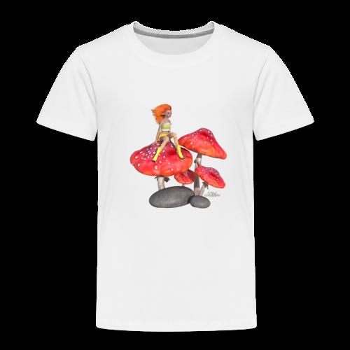 Lutine sur Champignon - T-shirt Premium Enfant