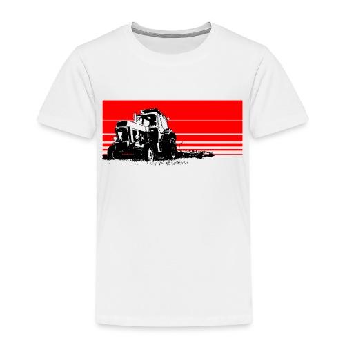Sunset tractor - Maglietta Premium per bambini